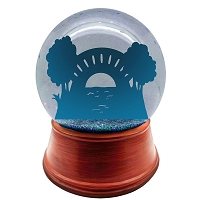 You Design a non-living personalized snow globe