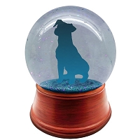 You design full head to toe personalized pet snow globe
