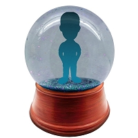 You Design full head to toe personalized snow globe