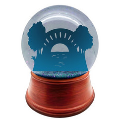 Custom Snow Globe | Full Design Non-Living