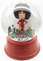 Custom Snow Globe | Female Super Hero