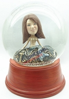 Custom Snow Globe | Women Mermaid