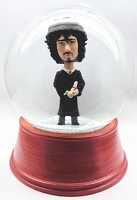 Custom Snow Globe | Male Wearing Graduation Robe With Diploma