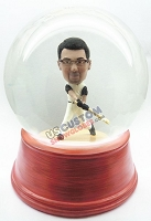 Custom Snow Globe | Male Baseball Batter