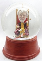 Custom Snow Globe | King Sitting On Throne