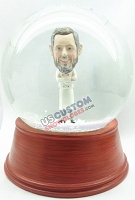 Custom Snow Globe | Male Chef Wearing Apron
