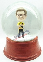 Custom Snow Globe | Male Carpenter