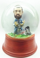 Custom Snow Globe | Male Deer Hunter With Bow