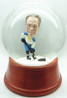 Custom Snow Globe | Hockey Player