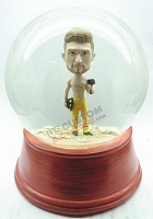 Custom Snow Globe | Construction Worker