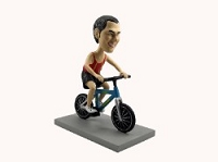 Man Bicycle-Rider custom bobble head doll