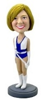 Cheerleader custom bobble head doll