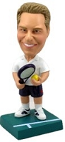 Tennis custom bobble head doll