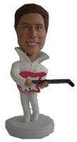 Elvis custom bobble head doll