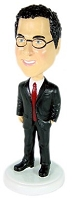 Executive suit 2 custom bobblehead doll