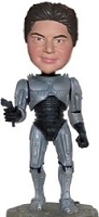 Robot man custom bobble head doll