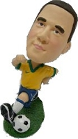 Soccer Goal custom bobble head doll