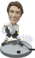 Hockey custom bobble head doll  (NEW LEFT)