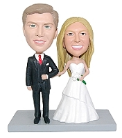 Wedding couple custom bobble head doll 7