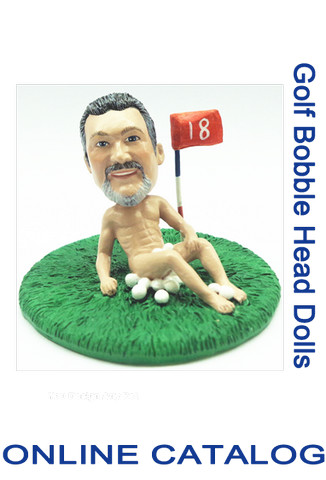 Custom Bobble - Golf