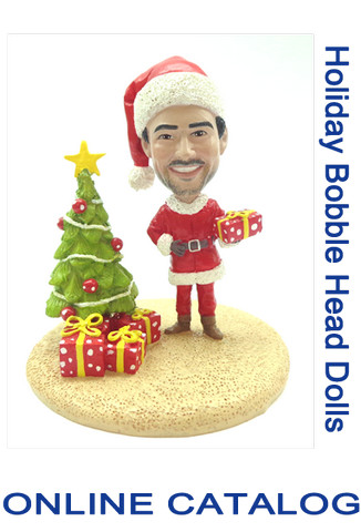 Custom Bobble - Holiday