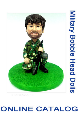 Custom Bobble - Military