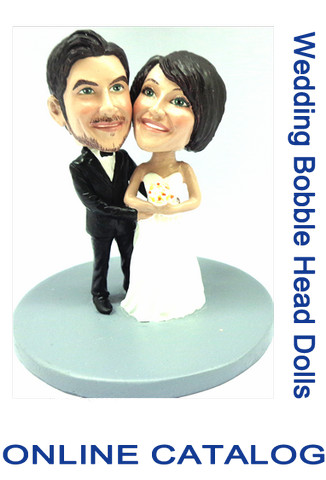 Custom Bobble - Wedding