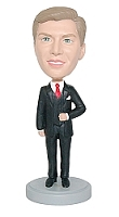 Groom bobblehead/ Best Man custom bobble head doll