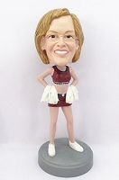 Cheerleader custom bobble head doll 2