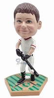 Baseball Batter custom bobble head doll