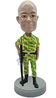 Military custom bobble head doll 5