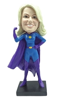 Super Girl custom bobble head doll 2 Premium