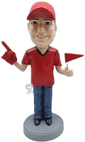 #1 Fan custom bobble head doll 2