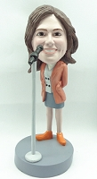 Showing Great Love personalized bobble head doll singer