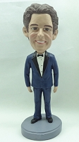 Tuxedo custom bobble head doll   Man (Suit 4) Bow Tie