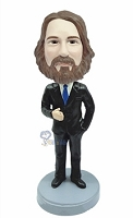 Executive in Suit custom bobble head doll 4