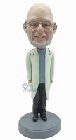 Doctor custom bobble head doll with hands in pocket
