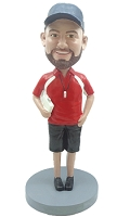 Coach Male custom bobble head doll 4