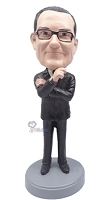 Executive in Suit custom bobble head doll 7