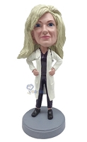 Female Doctor 2 custom bobblehead