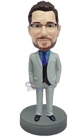 Executive in Suit custom bobble head doll 9