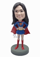 Super Girl custom bobble head doll 6 Premium