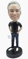 Casual custom bobble head doll 10