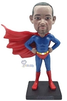 Superman custom bobble head doll 2