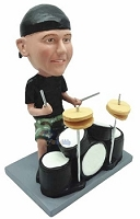 Drummer custom bobble head doll 2