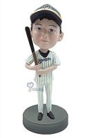 Baseball Batter custom bobble head doll  3
