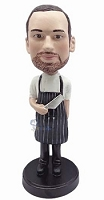 Chef Champion custom bobble head doll  Butcher