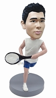 Tennis custom bobble head doll 9