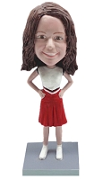 Cheerleader custom bobble head doll 3