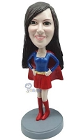 Super Girl custom bobble head doll 5 Premium